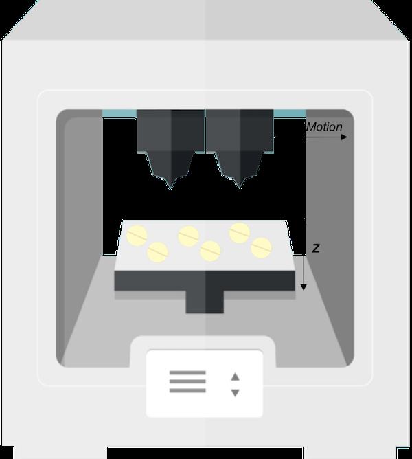 imprimante 3d pour médicament
