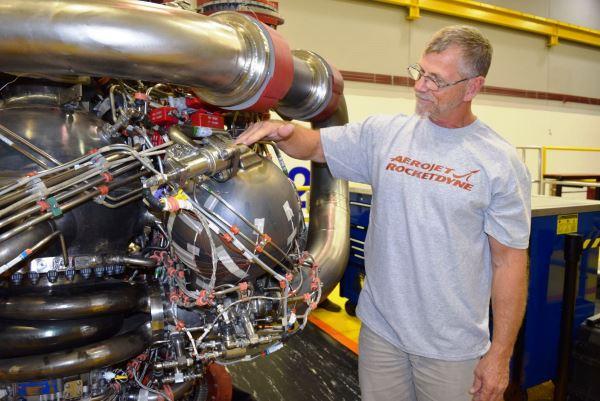 pièce moteur fusée fabriquée par impression 3d