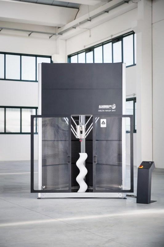 imprimante 3D DeltaWASP 3MT Industrial
