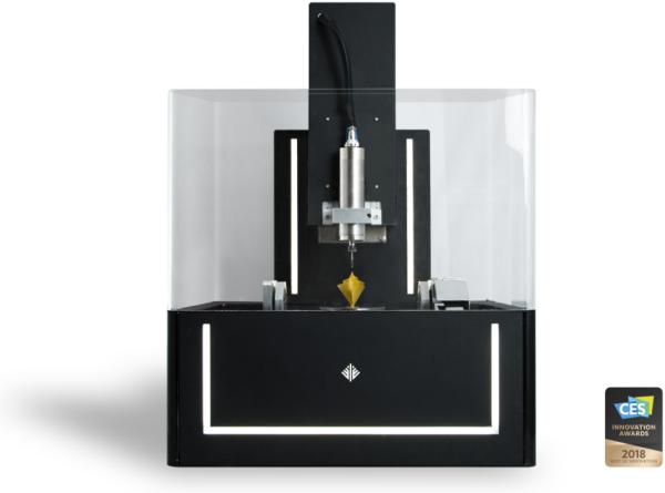 CES 2018 : Ethereal Machines récompensée pour son imprimante 3D hybride 5 axes