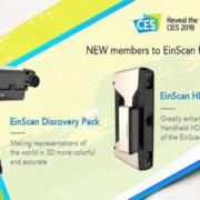 SHINING 3D dévoile deux nouveaux accessoires pour ses scanners 3D EinScan