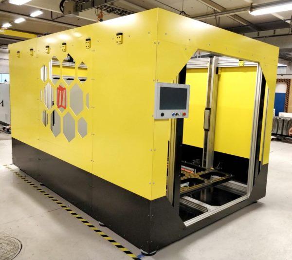 Une imprimante 3D géante pour fabriquer des portes et des fenêtres