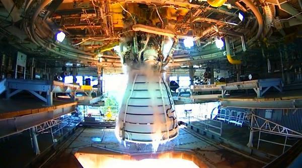 moteur de fusée imprimé en 3d