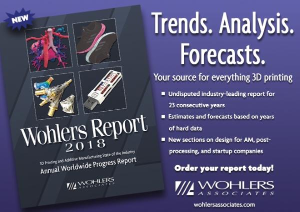 rapport impression 3D Wohlers Associates