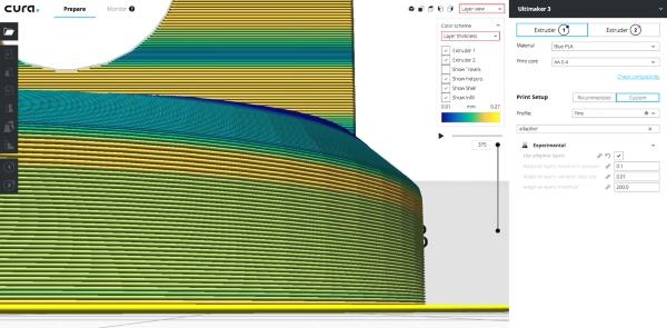 CURA 3.2 optimise vos impressions 3D avec de nouvelles fonctionnalités