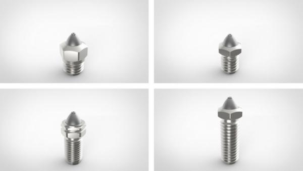 buse d'imprimantes 3D en carbure de tungstène