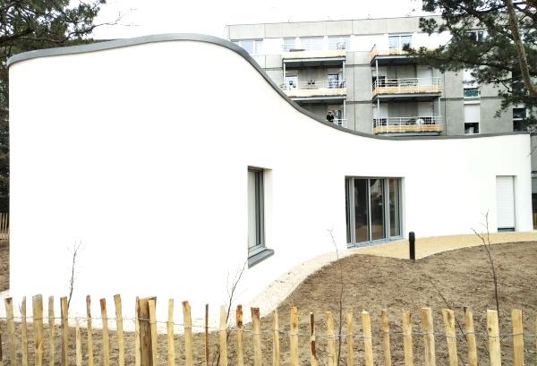 La premi re maison construite par impression 3d inaugur e for Construction maison 3d a nantes