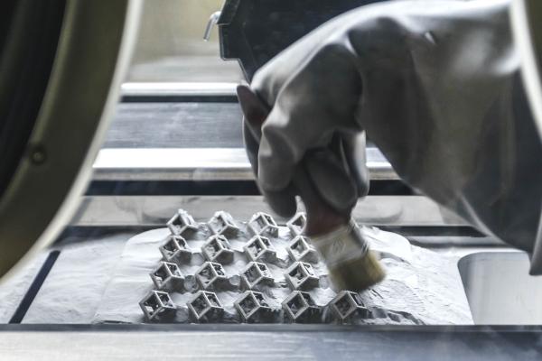 un système de recyclage pour les poudres d'impression 3D métallique