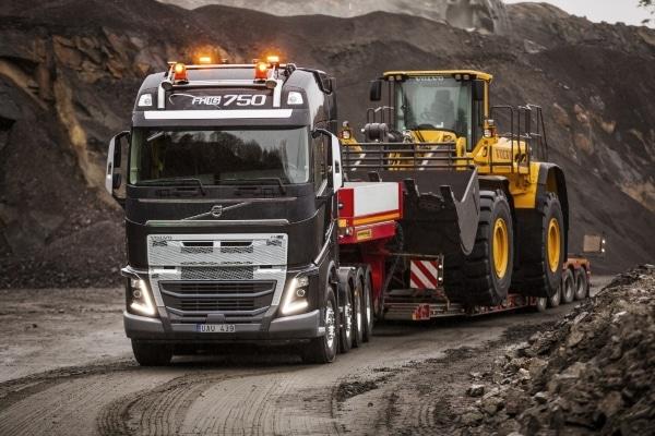 remorquage camion Volvo