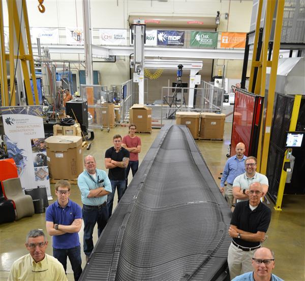 Le premier moule à pale d'éolienne imprimé en 3D