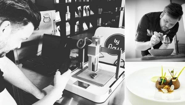 Un chef étoilé ouvre le premier restaurant de plats imprimés en 3D des Pays-Bas