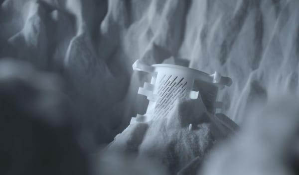pièce imprimée par frittage laser