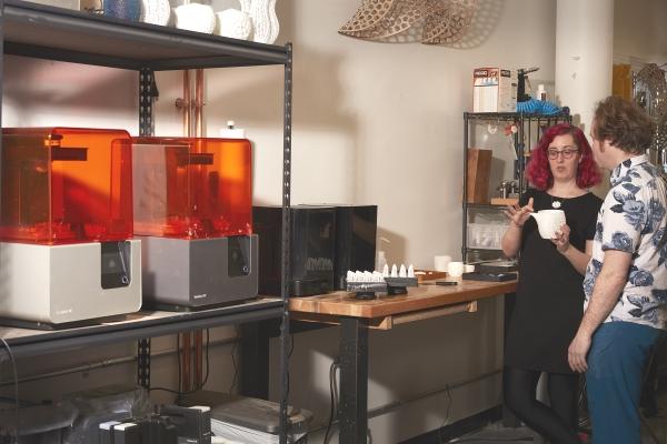 résine céramique pour l'imprimante 3D Form 2