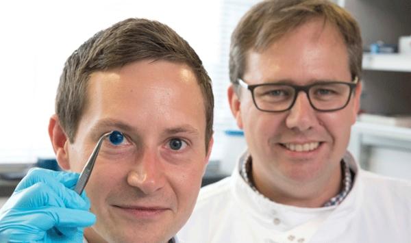 la première cornée humaine fabriquée par impression 3D