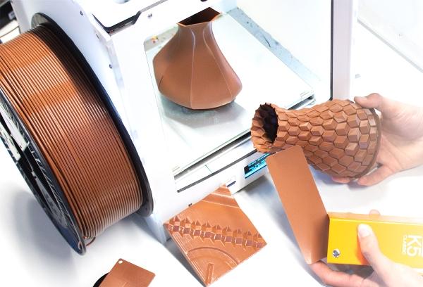 service de couleur à la demande pour filaments d'impression 3D