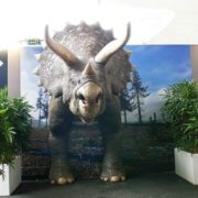 Un Triceratops grandeur nature imprimé en 3D fait sensation à Paris