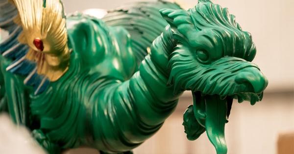 Quand l'impression 3D ramène à la vie des dragons de 250 ans