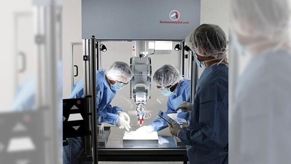 Bras robotique BioAssembly Bot® à 6 axes