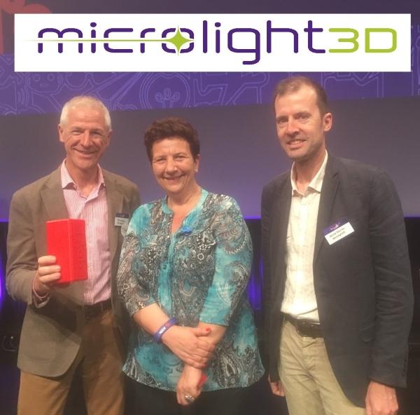 Le français Microlight 3D et sa technologie de micro-impression 3D remportent le concours i-LAB