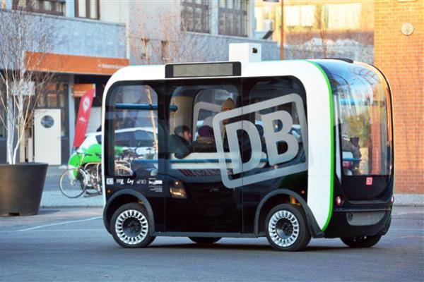 mini bus autonome imprimé en 3d