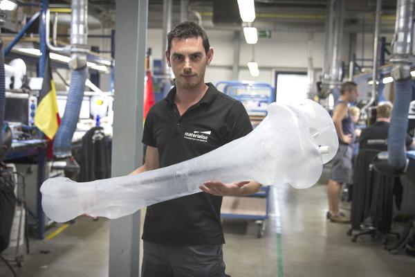 L'impression 3D pour reproduire un squelette de mammouth grandeur nature