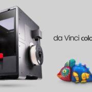 XYZprinting lance une nouvelle imprimante 3D couleur, mini par la taille et le prix