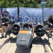 Quand l'impression 3D transforme le fauteuil roulant d'un adolescent en vaisseau Star Wars !