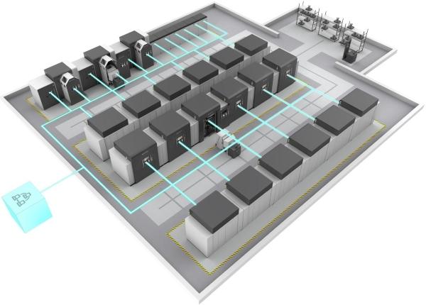 Plateforme DMP Factory 500 de 3D Systems