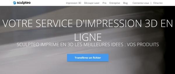 les services d'impression 3D en ligne
