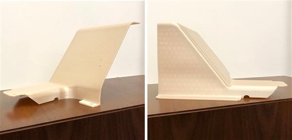 toilettes imprimées en 3D pour un avion cargo