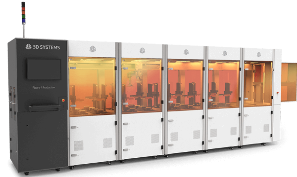 plateforme de fabrication additive Figure 4 de 3D Systems