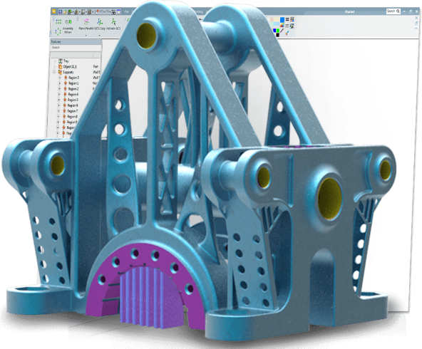 logiciel 3D expert de 3D Systems