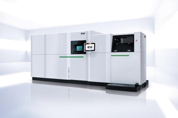 M300-4 : EOS lance une imprimante 3D métal avec une productivité 10 fois supérieure