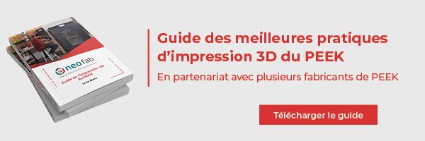 livre blanc sur les meilleures pratiques d'impression 3D du PEEK