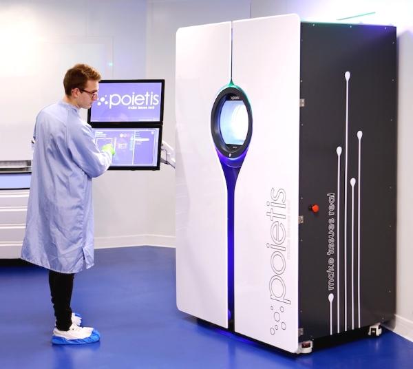 Poietis : le spécialiste français de la bio-impression s'associe à Servier pour imprimer des tissus de foie