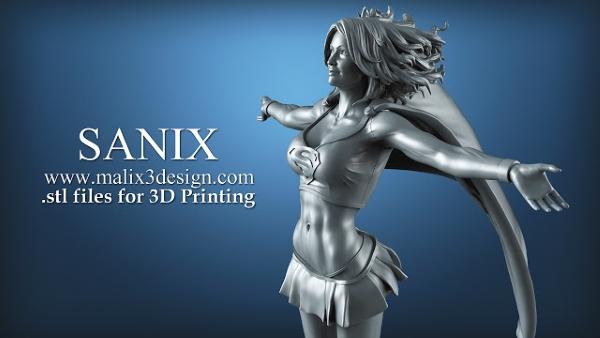 TOP 10 des plus beaux modèles Marvel et DC Comics à imprimer en 3D