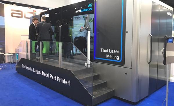 imprimante 3D métal Adira au Formnext