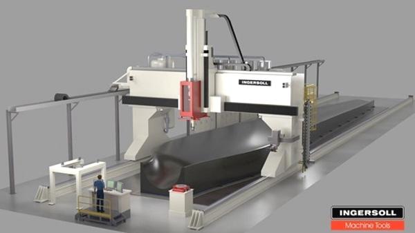 imprimante 3D géante pour les plastiques composites