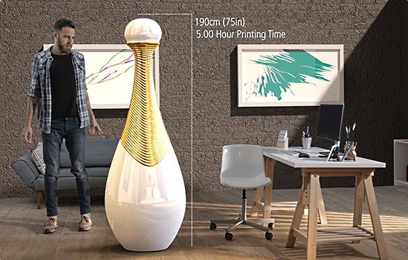 L'impression 3D grand format pour pallier aux limites de la découpe à fil chaud