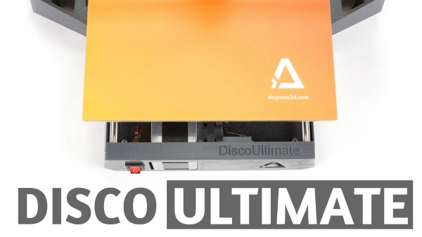 nouvelle imprimante 3d Dagoma Disco Ultimate