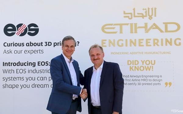 partenariat entre Etihad et Eos