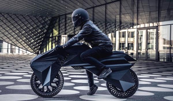 Nera : une moto électrique née de l'impression 3D