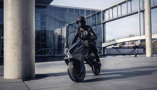 motocyclette fabriquée par impression 3D