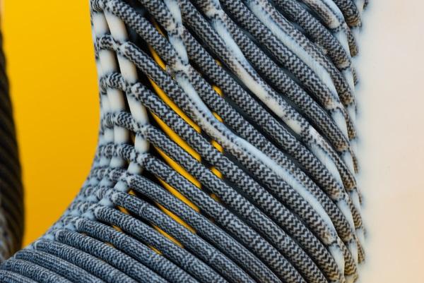 chaussures fabriquées par impression et tissage