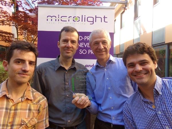 spécialiste français de la micro-impression 3D Microlight 3D