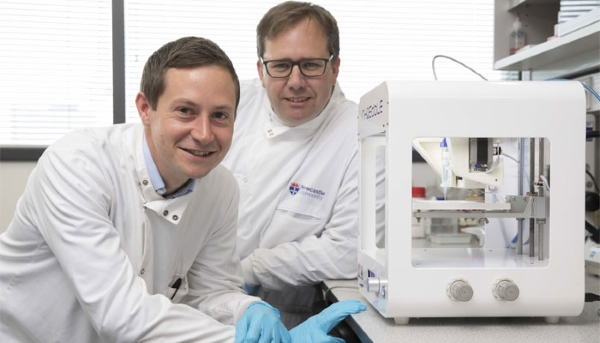 L'Université de Newcastle imprime la première cornée en 4D