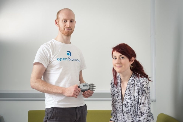 fondateurs d'Open Bionics