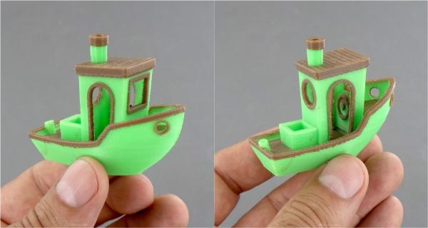 bateau test 3d benchy
