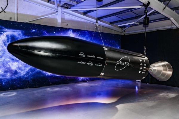 fusée avec moteur imprimé en 3D