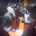 Bugatti : son étrier de frein imprimé en 3D à l'épreuve du feu